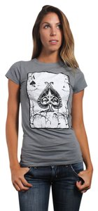 Three for Twelve T Shirt Heather Charcoal