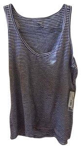 jcp Top Blue and white stripes