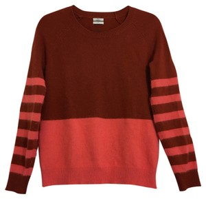 Madewell Stripes Jewel-toned Angora Stretchy Sweater