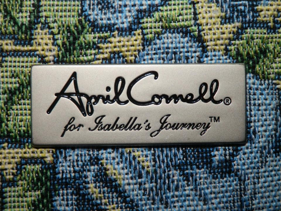 bb5c730d56 April Cornell For Isabella s Journey Blue and Green Tapestry ...