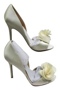 Badgley Mischka Bride Wedding D'orsay Ivory Formal