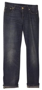 Tory Burch Straight Leg Jeans-Medium Wash