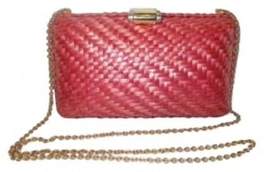 Preload https://item2.tradesy.com/images/rodo-italy-woven-pink-wood-clutch-134786-0-0.jpg?width=440&height=440