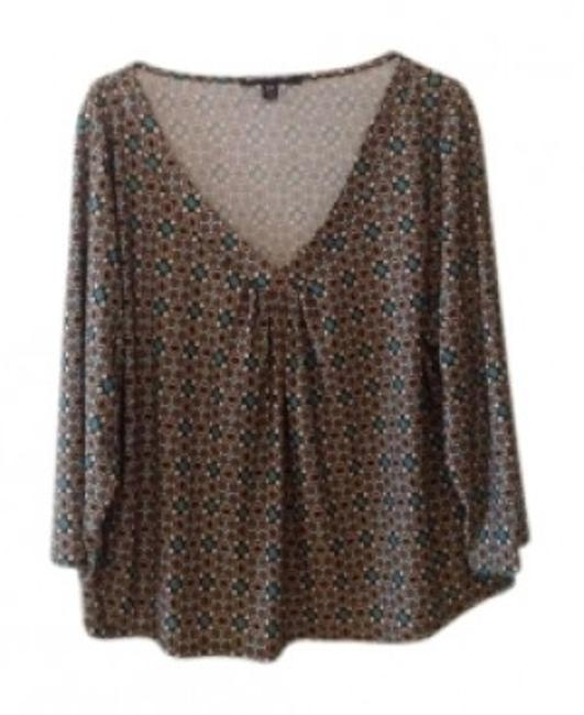 Preload https://item5.tradesy.com/images/briggs-brown-patterned-stretch-fabric-34-length-sleeve-gathered-bust-blouse-size-22-plus-2x-134789-0-0.jpg?width=400&height=650