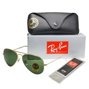 47b93354a8 Ray-Ban NIB Ray-Ban RB 3025 L0205 Classic Aviator Sunglasses Dark Green lens