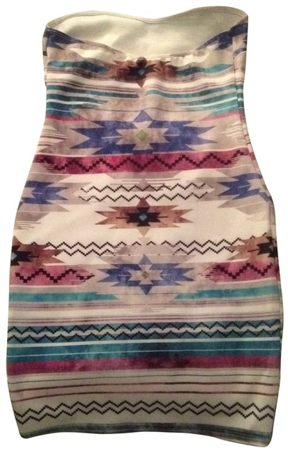 Preload https://item2.tradesy.com/images/nasty-gal-aztec-turquoise-lavender-black-rose-bodycon-strapless-mini-night-out-dress-size-4-s-134806-0-1.jpg?width=400&height=650