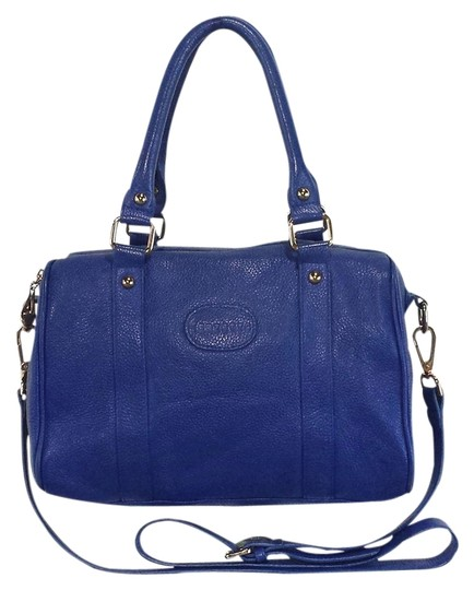 Preload https://img-static.tradesy.com/item/1348093/terzetto-blue-pebbled-leather-satchel-0-0-540-540.jpg