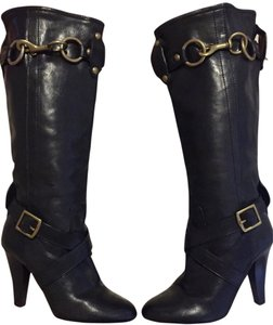 Coach Knee-high Boot Black Boots