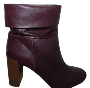 Vince Burgundy Boots