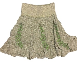 Free People Skirt Green