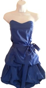 Steppin' Out Bubble Mini Bridesmaid Party Dress