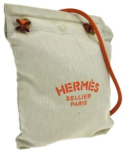 Hermès Hermes Logos Cross Body Bag