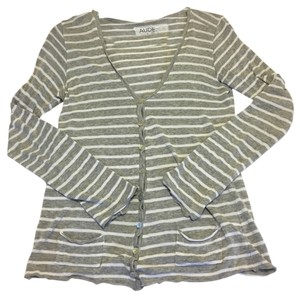 Anthropologie Stripes Slouchy Cardigan