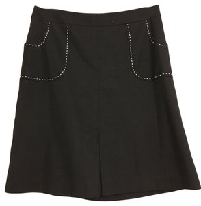 Anthropologie Skirt Black