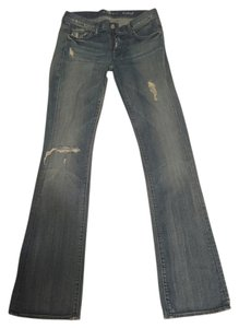 7 For All Mankind Boot Cut Jeans-Distressed