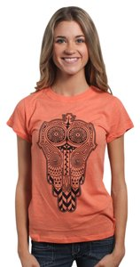 Three for Twelve T Shirt Hunter Orange