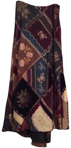 Ralph Lauren Blue Label Vintage Maxi Skirt Multi