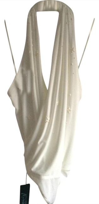 Preload https://item3.tradesy.com/images/marciano-white-macadamia-blouse-size-4-s-1348267-0-0.jpg?width=400&height=650