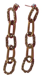 Rhinestone Chain Earrings