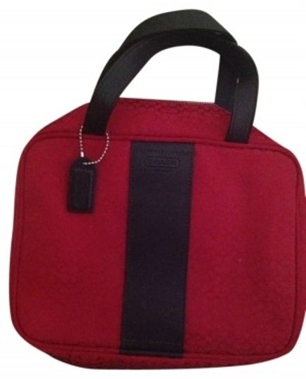 Preload https://item5.tradesy.com/images/coach-red-make-up-travel-cosmetic-bag-134829-0-0.jpg?width=440&height=440