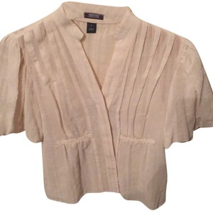 Kenneth Cole Reaction Button Down Shirt Cream