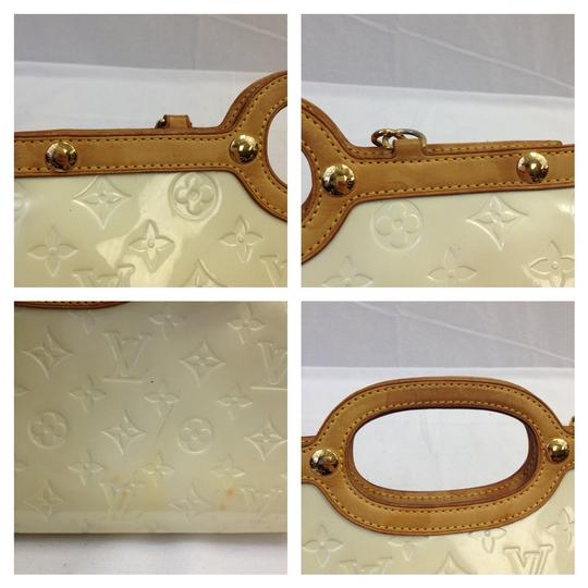 Louis Vuitton Vernis Beige Spring Hand Shoulder Bag
