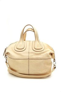 Givenchy Nightingale Pale Satchel in Beige