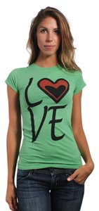 Three for Twelve T Shirt Hunter Green