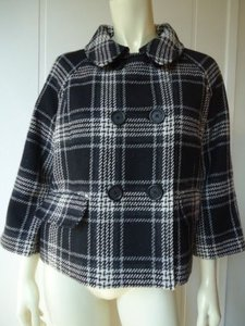 DKNY Jeans Plaid Sherlock Multi-Color Jacket