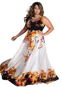 Igigi Wedding Halter Empire Waist Flowy Fall Dress
