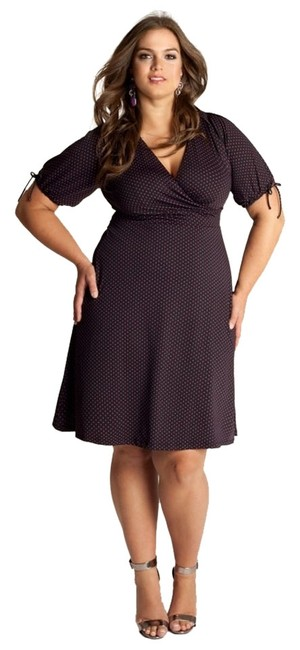 Preload https://item2.tradesy.com/images/igigi-black-and-pink-makenna-1820-knee-length-workoffice-dress-size-20-plus-1x-1348536-0-0.jpg?width=400&height=650