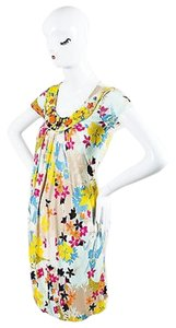 Max Mara short dress Multi-Color Multicolor Floral on Tradesy