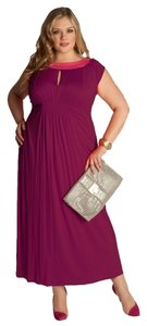 Eggplant Maxi Dress by Igigi 14/16 Maxi A-line Flattering