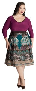 Igigi A-line Empire Waist 18/20 Fall Plus Plus-size Dress