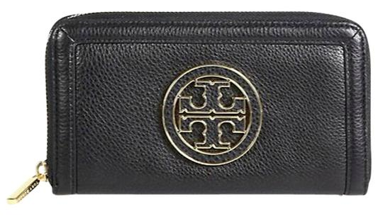 Tory Burch Tory Burch Amanda Continental Full Zip Wallet - Black