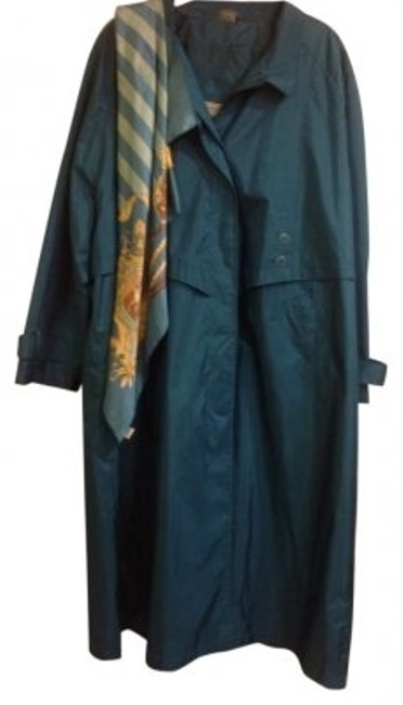 Preload https://item4.tradesy.com/images/greenishreal-trench-coat-size-24-plus-2x-134883-0-0.jpg?width=400&height=650