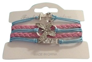 no brand Butterfly bracelet new with cellophane package