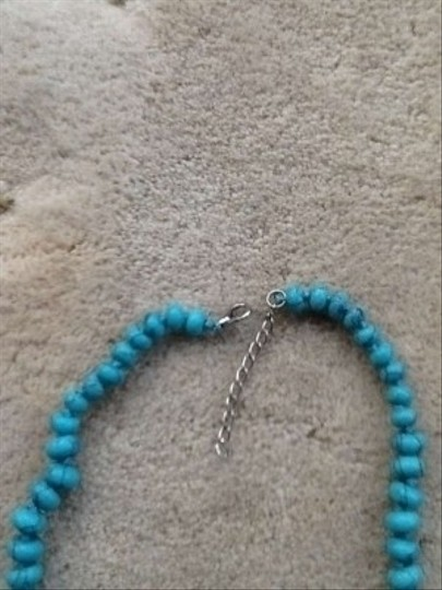 Other Beaded turquoise colored necklace