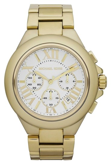 Preload https://item1.tradesy.com/images/michael-kors-gold-camille-watch-1348885-0-0.jpg?width=440&height=440