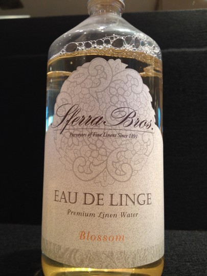Sferra Brothers Premium Linen Water; BLOSSOM by Sferra Brothers - [ Roxanne Anjou Closet ]