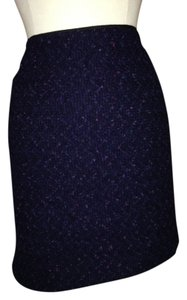Elie Tahari Navy Size 12 Mini Skirt