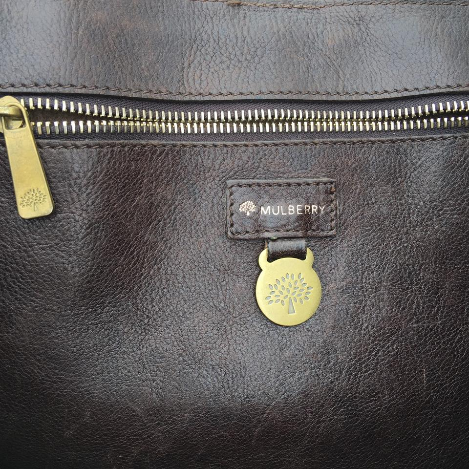 eec97db271 Mulberry Elgin Style Chocolate Brown Leather Tote - Tradesy
