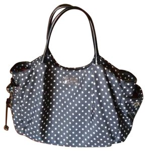 Kate Spade Tote in Black W/ White Dots