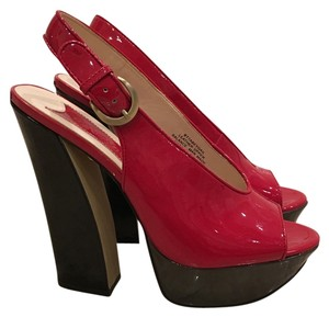 Boutique 9 Red Platforms