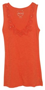 INC International Concepts Night Out Top Orange