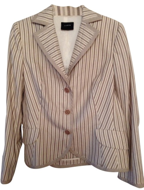 Akris Beige And Cream Blazer