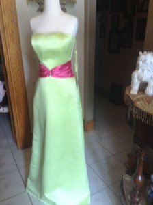 Raylia Designs Lime Green/ Hot Pinl 33037 Dress