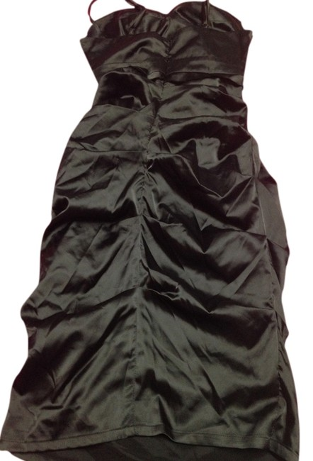 Preload https://item3.tradesy.com/images/rubber-ducky-productions-inc-black-satin-ruched-knee-length-cocktail-dress-size-8-m-1349047-0-0.jpg?width=400&height=650