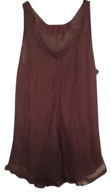 Preload https://item2.tradesy.com/images/dennis-basso-chocolate-brown-night-out-top-size-6-s-1349066-0-0.jpg?width=400&height=650