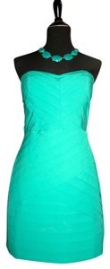 Gianni Bini short dress Emerald Green Day Party Layered on Tradesy